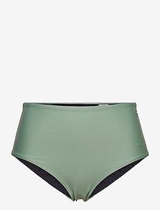 High Waist Bikini Hipster - bikini bottoms - botanic green