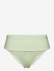 Iconic High Waist Bikini Bottoms - doły strojów kąpielowych - calming green