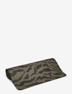 Exercise mat Cushion 5mm PVC free - träningsmattor - forest green/black