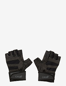 Exercise glove support - equipement - black