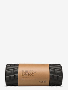 Tube roll bamboo - schuimrollen en massageballen - black