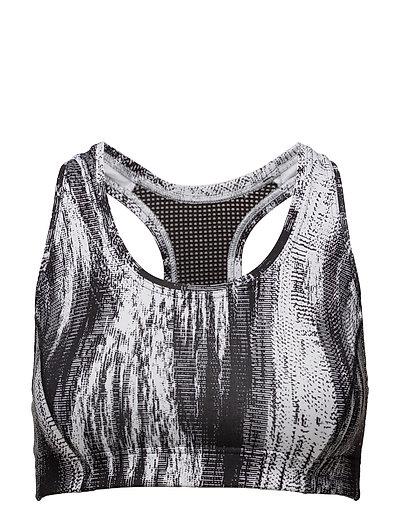 Iconic sports bra - BLACK OBLIQUE