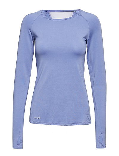 Straight cut long sleeve - MINERAL BLUE