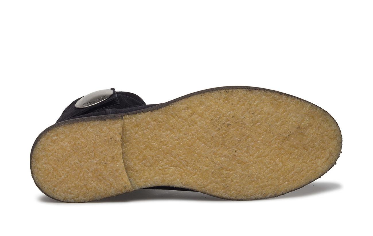 Cuir Boots Intérieure Semelle Supérieure Black Partie Cashott Supérieure Doublure 100 qXxwZWd