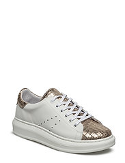 SNEAKERS - WHITE BALT/COCCO GOLD