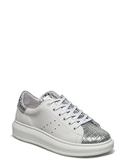 SNEAKERS - WHITE BALT/COCCO SILVER