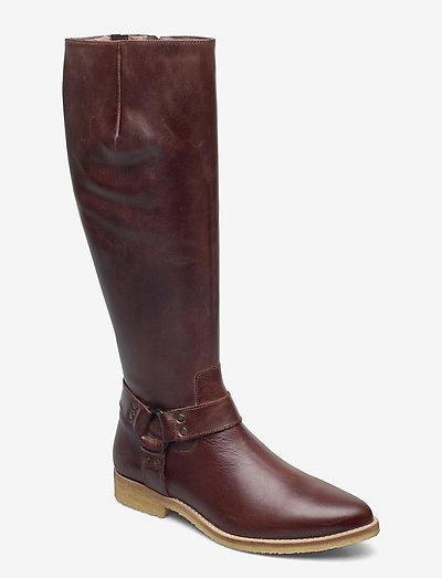 BOOTS - kozaki klasyczne - brown west 136