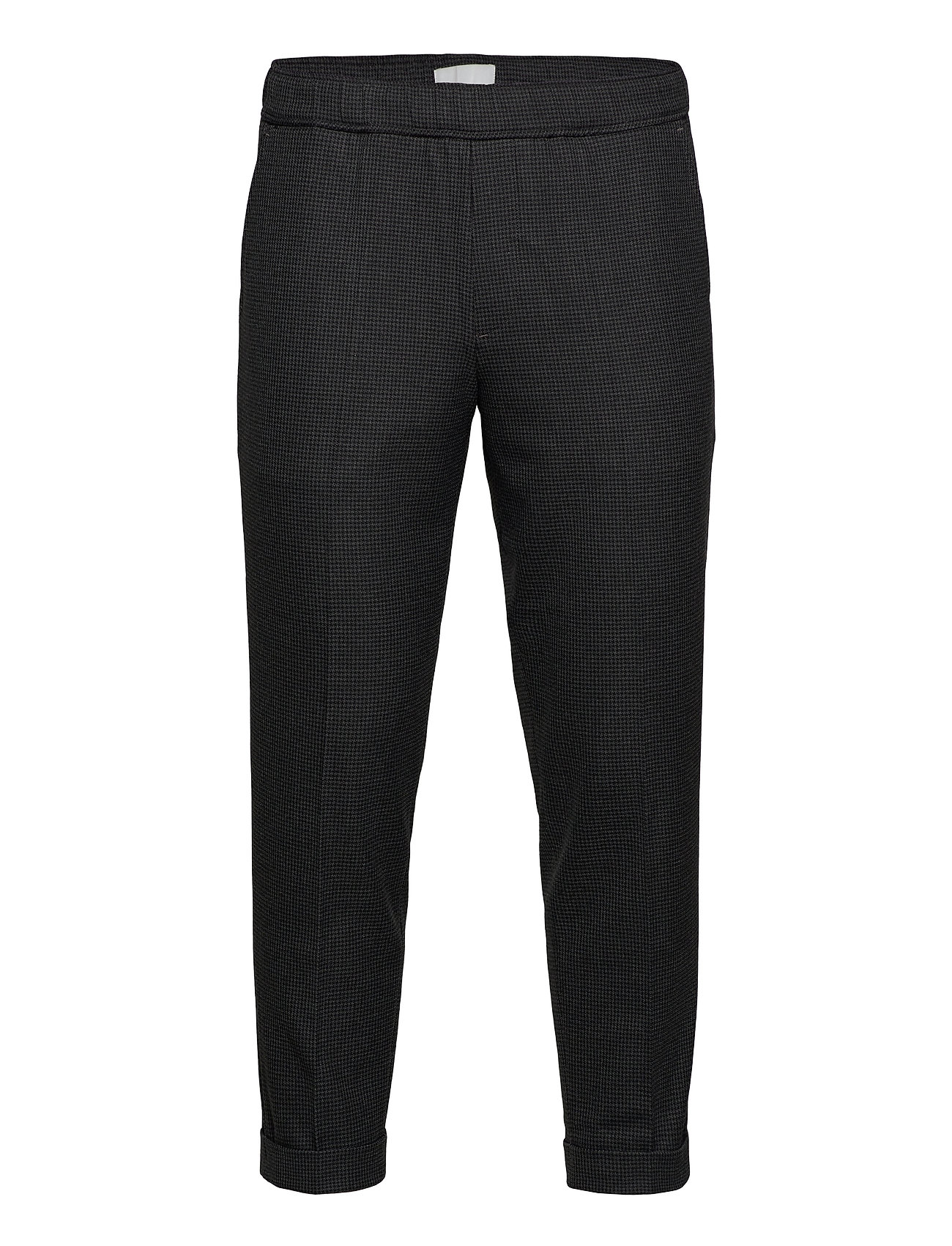 Image of Pilou Drawstring Pants Houndstooth Casual Bukser Grå Casual Friday (3445901975)