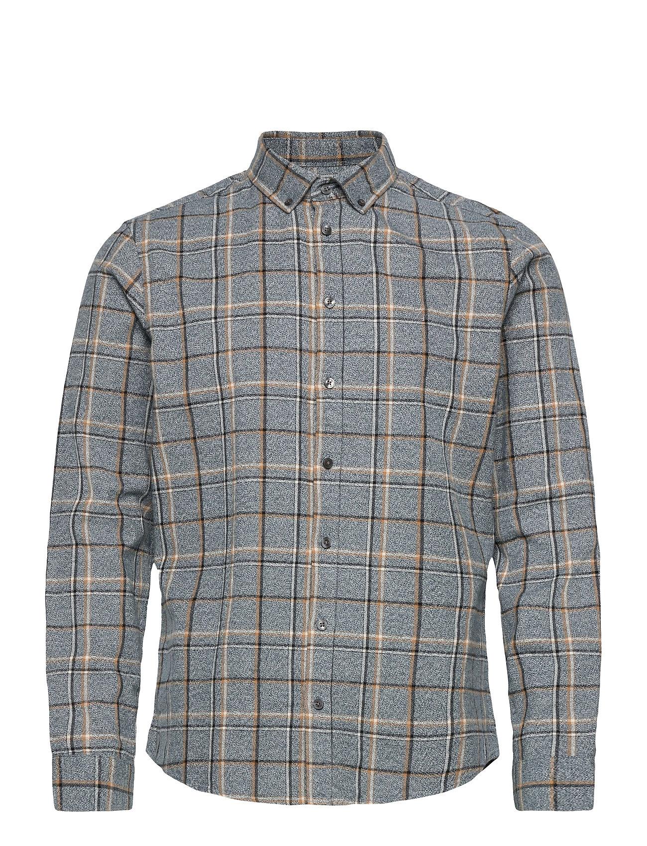 Image of Anton Bd Ls Shirt Skjorte Casual Grå Casual Friday (3461977209)