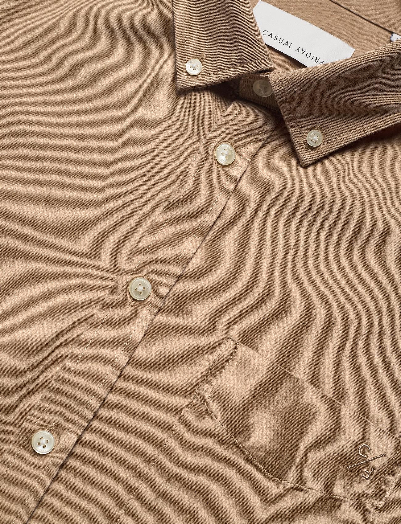 Casual Friday - Anton BD LS garment dyed shirt - kleding - incense - 3