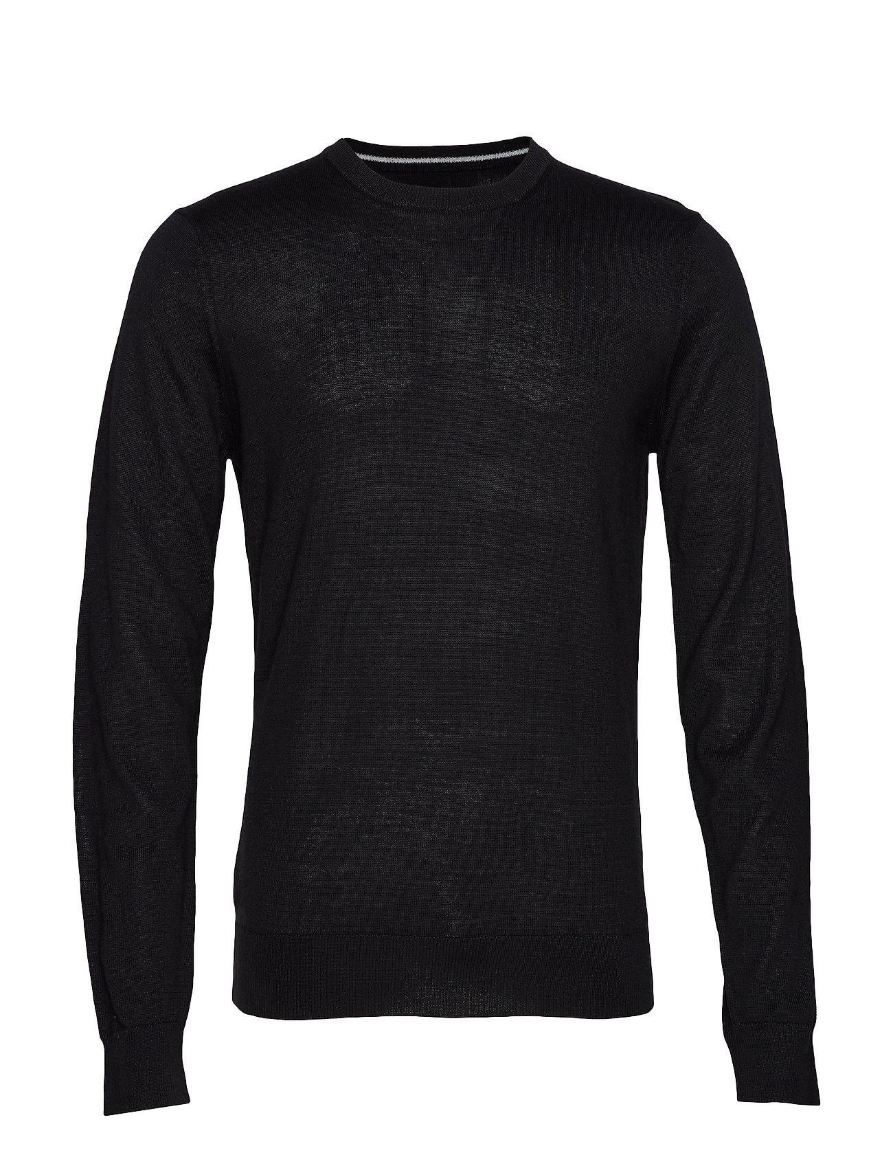 Casual Friday Pullover O-neck - BLACK