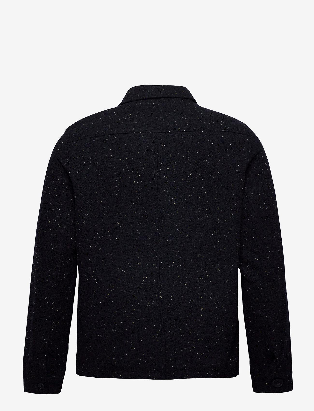 Casual Friday - Jalte nepyarn jacket Nep yarn wool - wool jackets - navy blazer - 1