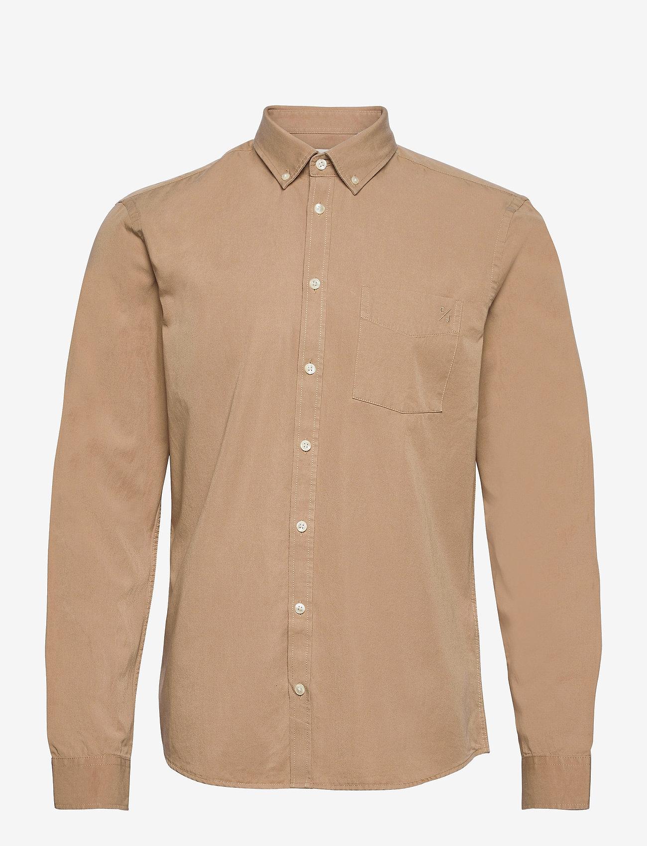 Casual Friday - Anton BD LS garment dyed shirt - vêtements - incense - 0