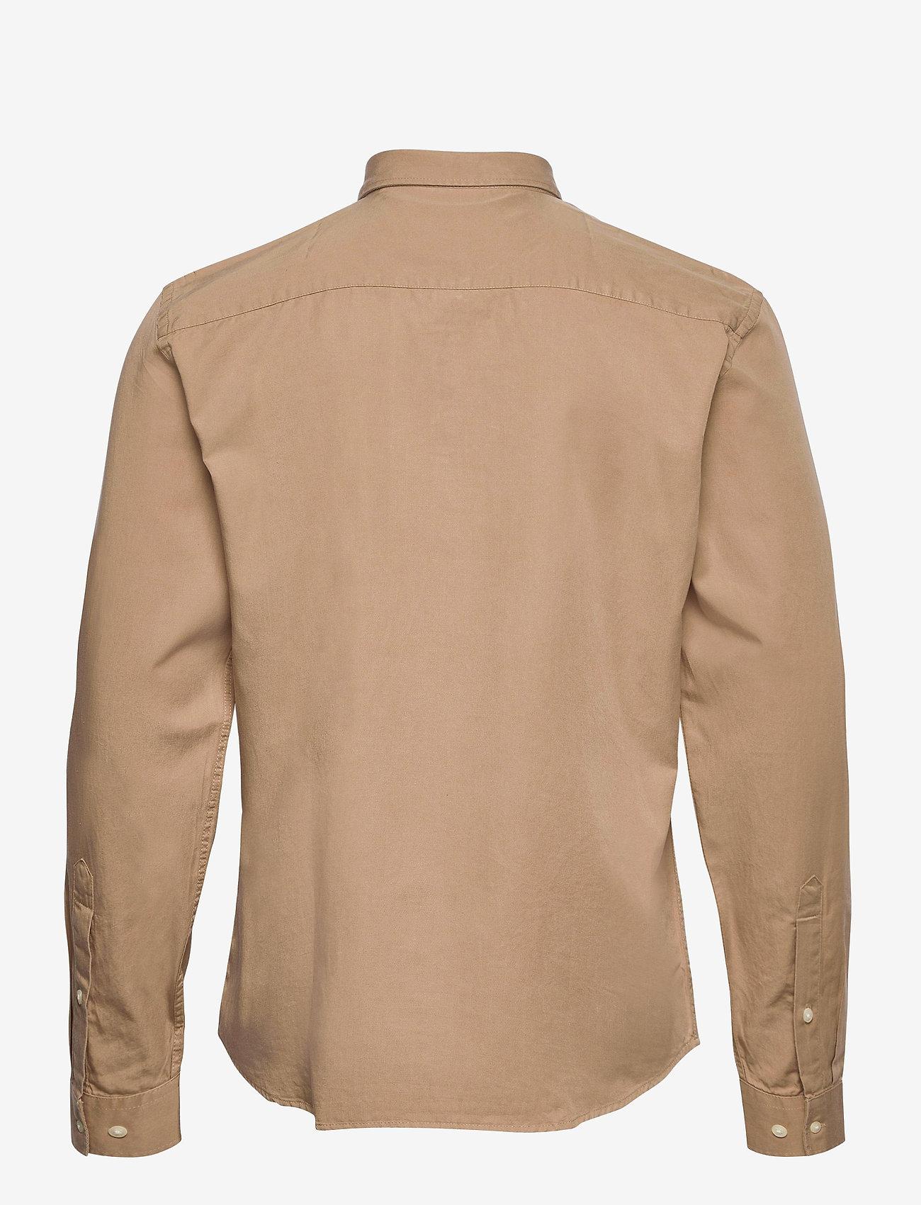 Casual Friday - Anton BD LS garment dyed shirt - vêtements - incense - 1