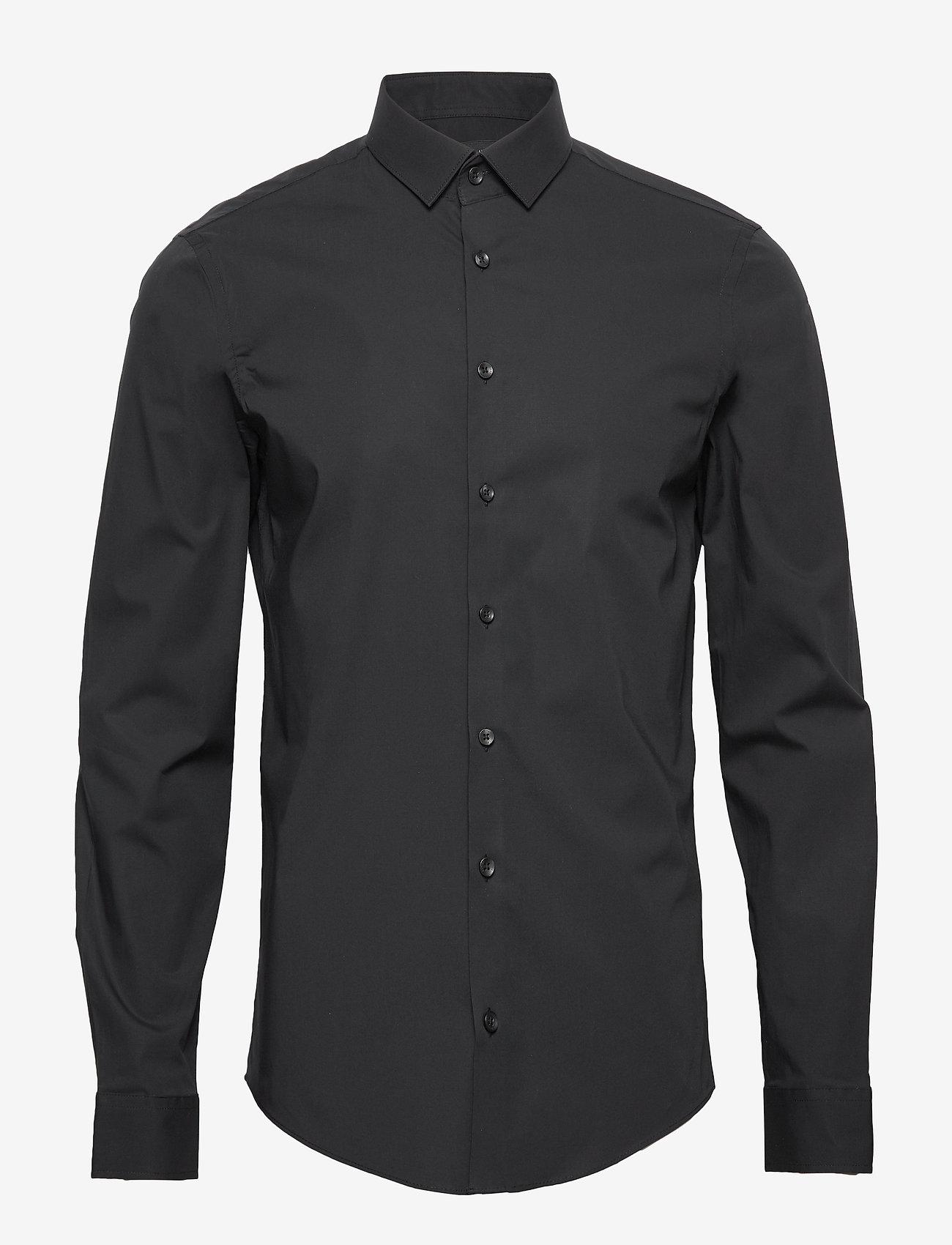 Casual Friday - Palle slim fit shirt - businesskjorter - black - 0