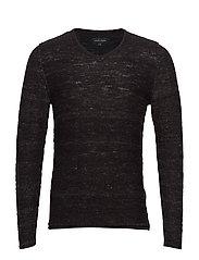 Pullover - DARK GREY MELANGE