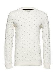 Sweatshirt - BONE WHITE