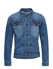 Denim Jacket - Slim Fit - MEDIEVAL BLUE
