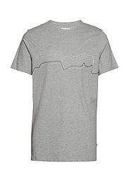 Tshirt - LIGHT GREY MELANGE
