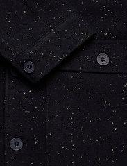 Casual Friday - Jalte nepyarn jacket Nep yarn wool - wool jackets - navy blazer - 3