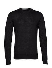 Pullover O-neck - BLACK