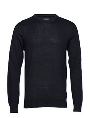 Pullover O-neck - NAVY