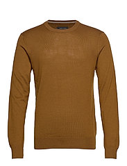 Pullover O-neck - WARM NOUGAT