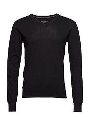 Pullover Basic knit pullover - BLACK