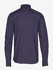 Casual Friday - Shirt Slim fit - business-paidat - night navy - 0