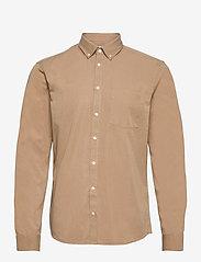 Anton BD LS garment dyed shirt - INCENSE