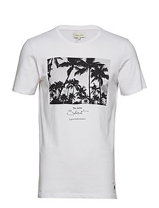 Tshirt Slim fit - BRIGHT WHITE