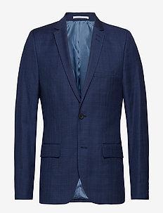 Blazer Slim fit - single breasted blazers - medieval blue