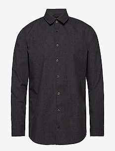 Shirt Slim fit - casual shirts - pewter mix