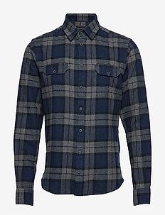 Shirt Regular fit - checkered shirts - space blue
