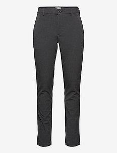 Philip performance pant Slim fit - - formele broeken - dark grey melange