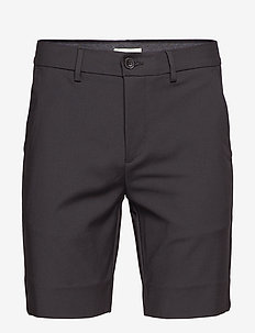 Shorts Slim fit - tailored shorts - black