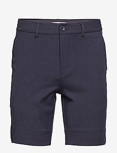 Shorts Slim fit - tailored shorts - navy