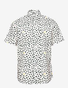 Shirt CFAnton BU SS - ECRU
