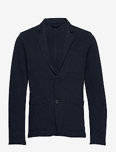Blazer CFBob Pique 2 button blazer - single breasted blazers - navy blazer