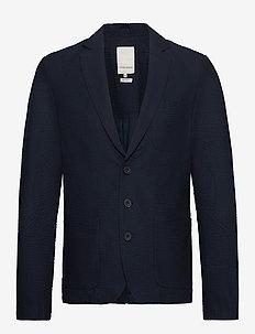 Blazer CFBoris Seersucker blazer - single breasted blazers - navy blazer