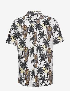 Shirt CFAnton CC - kurzarmhemden - ecru