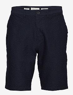 Shorts CFPaw Seersucker shorts - navy blazer