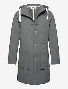 Olek duffer coat Duffer coat - uldfrakker - pewter mix