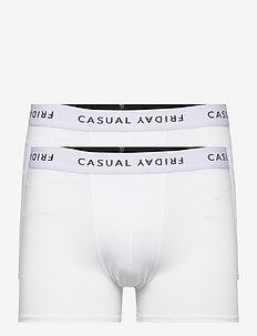 Norh logo 2-pack trunks - bokserid - bright white