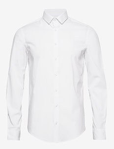 Palle slim fit shirt - BRIGHT WHITE