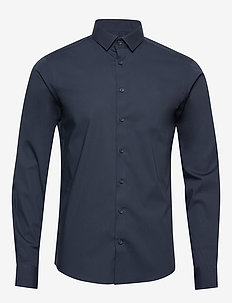 Palle slim fit shirt - business-paidat - navy