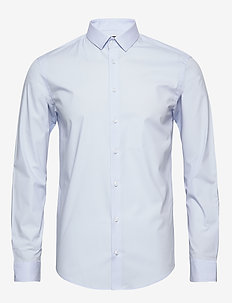 Palle slim fit shirt - PALE BLUE