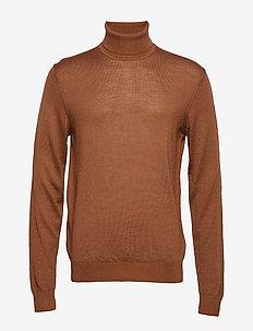 Pullover Merino knit - CAPPACINO
