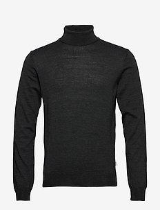 Pullover Merino Pullover - golfy - dark grey melange