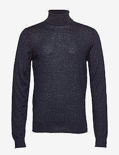 Pullover Merino knit - NAVY